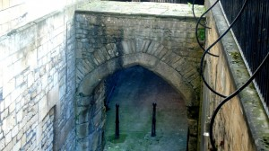 Lud Gate Bath - Old east gate