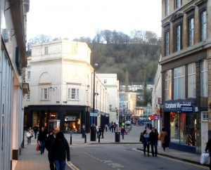 South gate, Bath